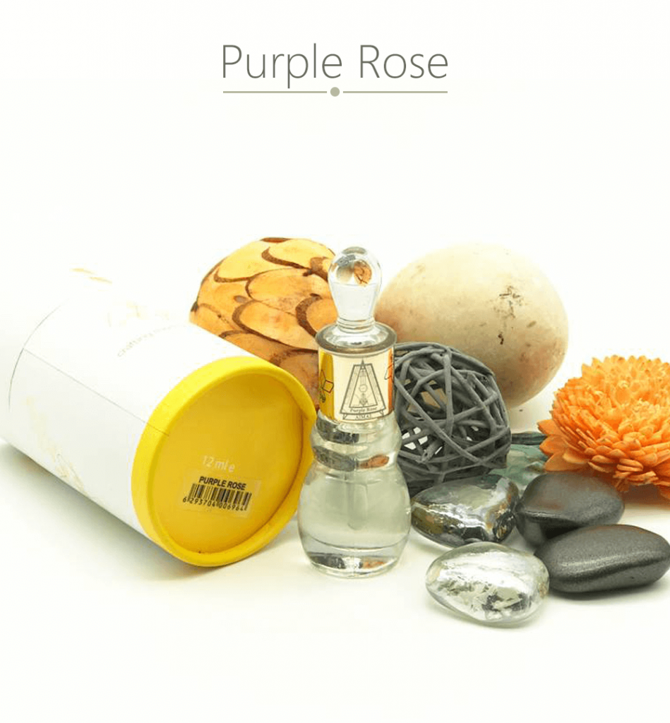 Tinh dầu nước hoa Dubai Purple Rose Ajmal với hương thơm nhẹ nhàng nhưng đầy tinh tế