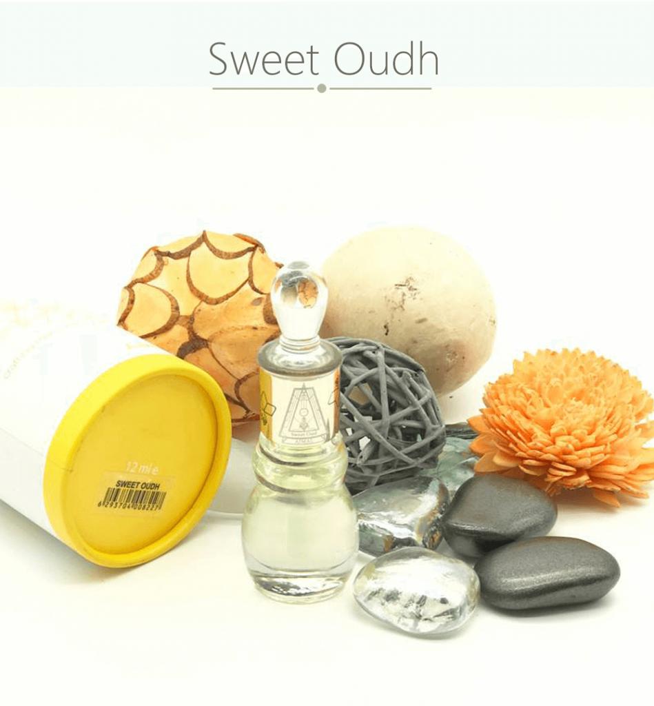 Tinh dầu nước hoa Dubai Sweet Oudh Ajmal với hương thơm ngọt ngào và nhẹ nhàng phù hợp với rất nhiều người