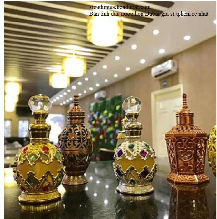 Bán tinh dầu nước hoa Dubai giá sỉ tphcm rẻ nhất uy tín nhất