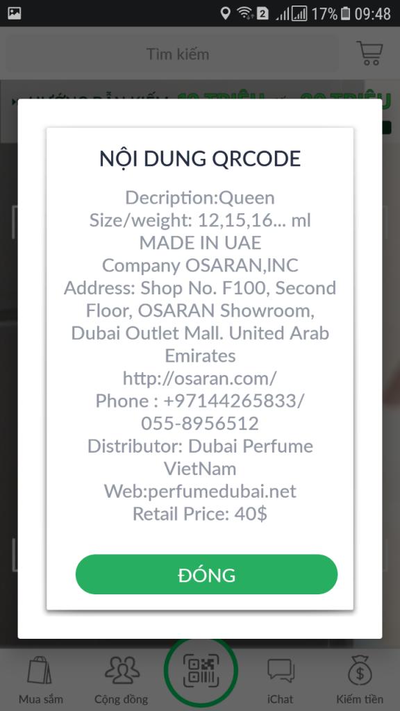 thông tin mua hàng nước hoa dubai Muhabbah