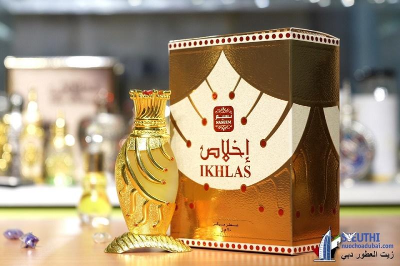 tinh dầu nước hoa dubai nội địa IKHLAS NASEEM
