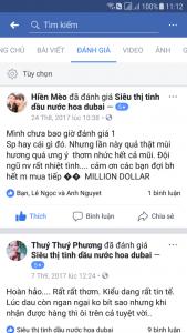 feed back tinh dau dubai attar ameer